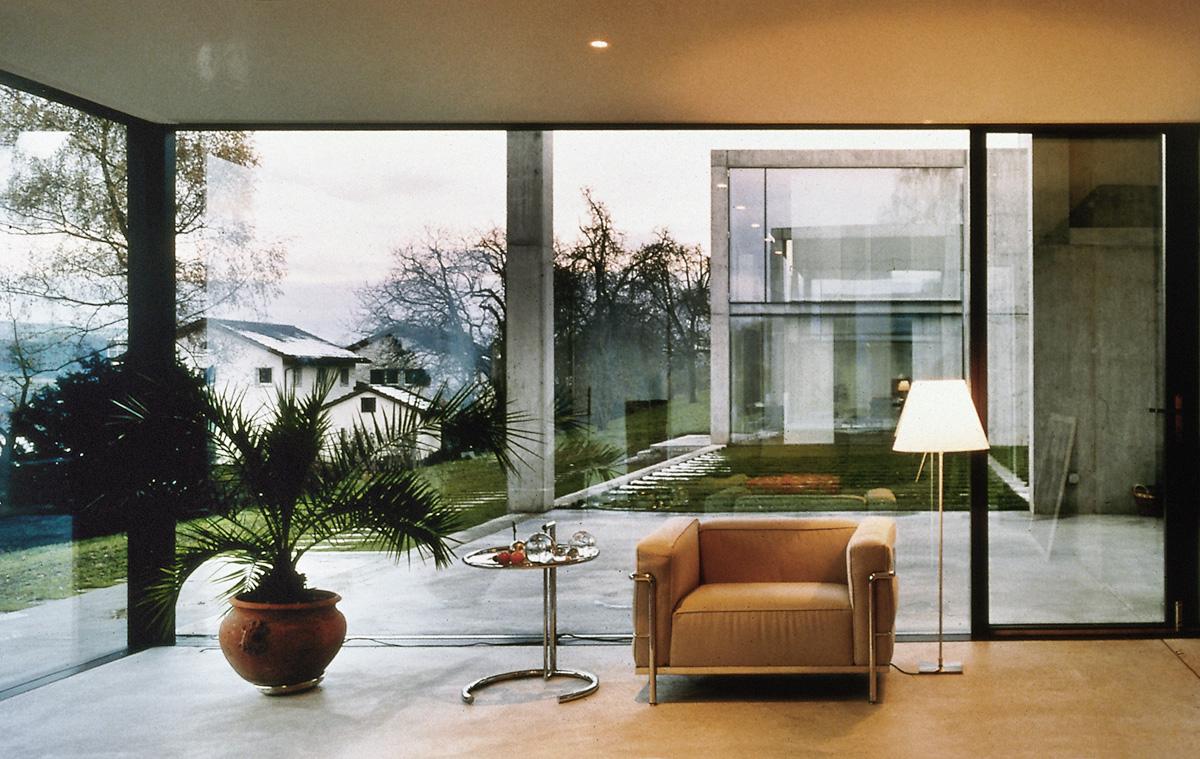 Floor House Elevation : Studio di architettura vacchini locarno switzerland